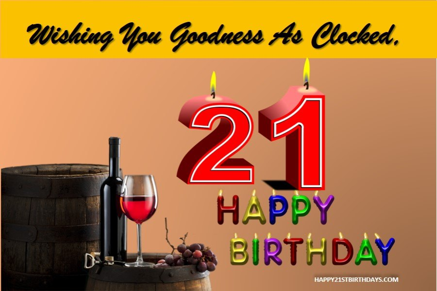 21 Years Old Birthday Quotes