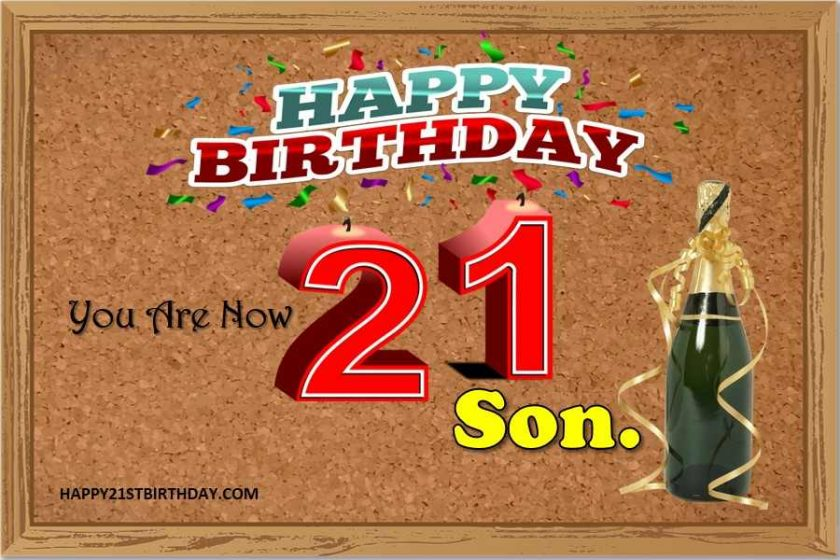 Letter To My Son On His 21st Birthday