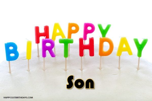 21st Birthday Messages to My Son